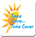 Take Care... Take Cover with sun