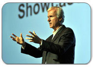 James Cameron at IBC 2011