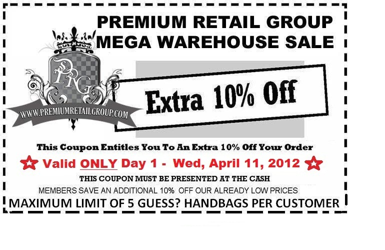 056442507 Premium Retail Group - Guess  Marciano Toronto Warehouse Sale ...